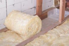Упаковка минеральных шерстей Стоковые Фото