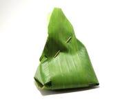 Упаковка от листьев банана стоковые изображения rf