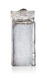Упаковка серебряной фольги стоковые фото