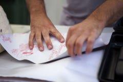 Упаковка сосиски стоковое изображение