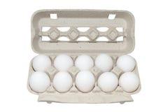 упаковка яичек 10 Стоковые Изображения RF