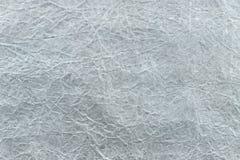 Упаковочная бумага скомканная серым цветом абстрактная конструкция предпосылки Стоковое Изображение