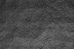 Упаковочная бумага скомканная серым цветом абстрактная конструкция предпосылки Стоковое фото RF