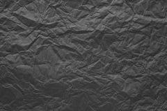 Упаковочная бумага скомканная серым цветом абстрактная конструкция предпосылки Стоковая Фотография