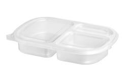 упаковывать изолированный едой Стоковое фото RF