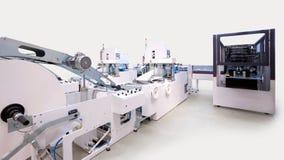 Упаковывать и печатные машины стоковые изображения