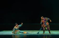 """Упал в  teenager†Пекина Opera""""Yue улиц-детей Стоковое фото RF"""