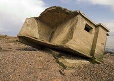 Упаденная орудийная башня Стоковые Изображения
