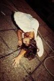 Упаденный ангел Стоковые Фото