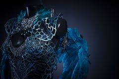 Упаденный ангел, Handmade дизайн птицы или мифологическая диаграмма Стоковое фото RF