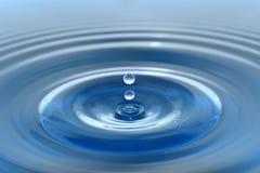 упадите вода Стоковые Изображения