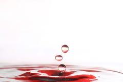 упадите вода Стоковое Изображение RF