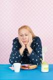 Упадочная женщина Стоковые Фотографии RF