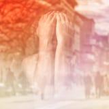 Упадочный человек Стоковое фото RF