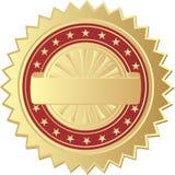 уплотнение золота Стоковая Фотография RF