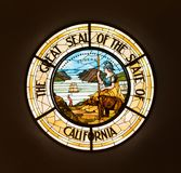 Уплотнение положения Калифорнии стоковая фотография rf