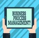 Управление бизнес-процесса показа знака текста Схематическая дисциплина фото улучшать анализ Hu бизнес-процесса иллюстрация штока
