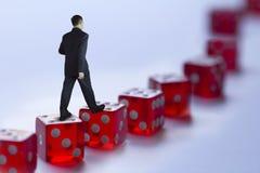 Управление делового риска Стоковое Изображение RF