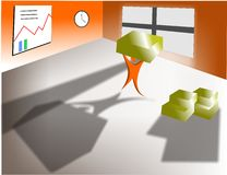 управление запасами исчисления Стоковые Изображения