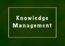 Управление знания иллюстрация вектора