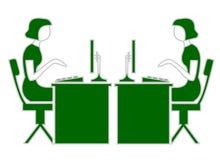 управление интернета Стоковое Изображение