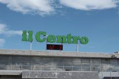 Управление 12-ое марта 2018 ежедневное centro il в pescara Стоковое Изображение RF