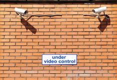 управление под видео Стоковое Изображение