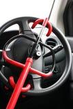 управление рулем замка автомобиля Стоковая Фотография RF