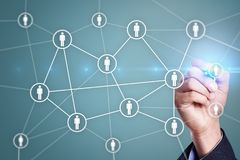 Управление человеческих ресурсов, HR, рекрутство, руководство и teambuilding стоковые фото
