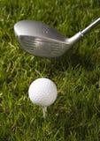 управляйте гольфом стоковое фото