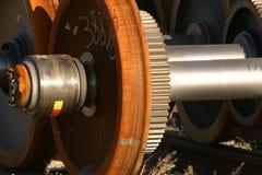 управляйте локомотивным колесом Стоковая Фотография RF
