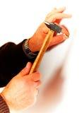 управляйте ногтем Стоковые Фото