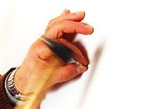 управляйте ногтем Стоковое Фото