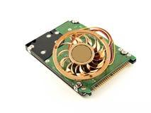 управляйте hard вентилятора Стоковое Изображение RF