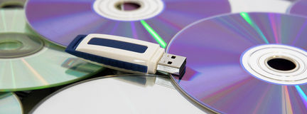управляйте usb хранения пер Стоковое Фото