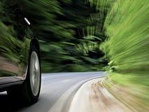 управлять автомобиля Стоковое Фото