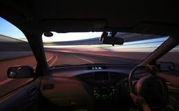 управлять автомобиля Стоковое Изображение RF