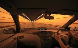 управлять автомобиля Стоковое Изображение