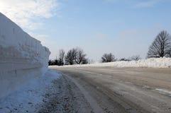 управлять дня снежный Стоковое Фото
