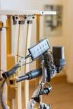 Управляющий элемент от кровати ухода Стоковое фото RF