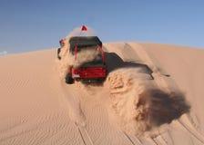 управляющ песком виллиса дюны красным вверх Стоковое Изображение
