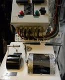 Управление в машинном отделении военного корабля & x22; Через Australis& x22; Стоковые Фотографии RF