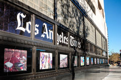 Управление газеты Лос-Анджелес Таймс Стоковое Фото