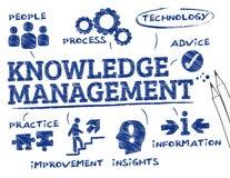 Управление знания Стоковые Фото