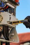 Управление напряжения тока Стоковое Изображение