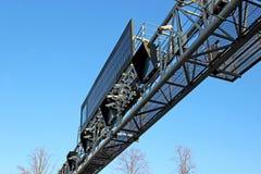 Управление скоростью и данные по камеры всходят на борт на дороге Стоковое Фото