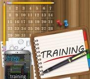 Управление тренировки Стоковое Изображение