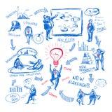Управление Doodle Стоковые Изображения RF