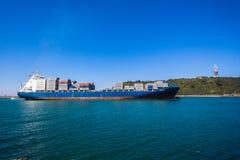 Управление Towerl входа гавани корабля Стоковые Изображения