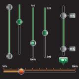 Управления вектора технические Стоковая Фотография RF